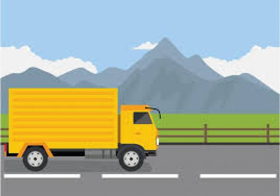 camion giallo